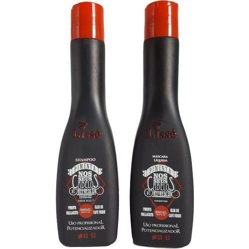 Kit Pimenta Completo Com Shampoo E Mascará Líquida De 300 ml