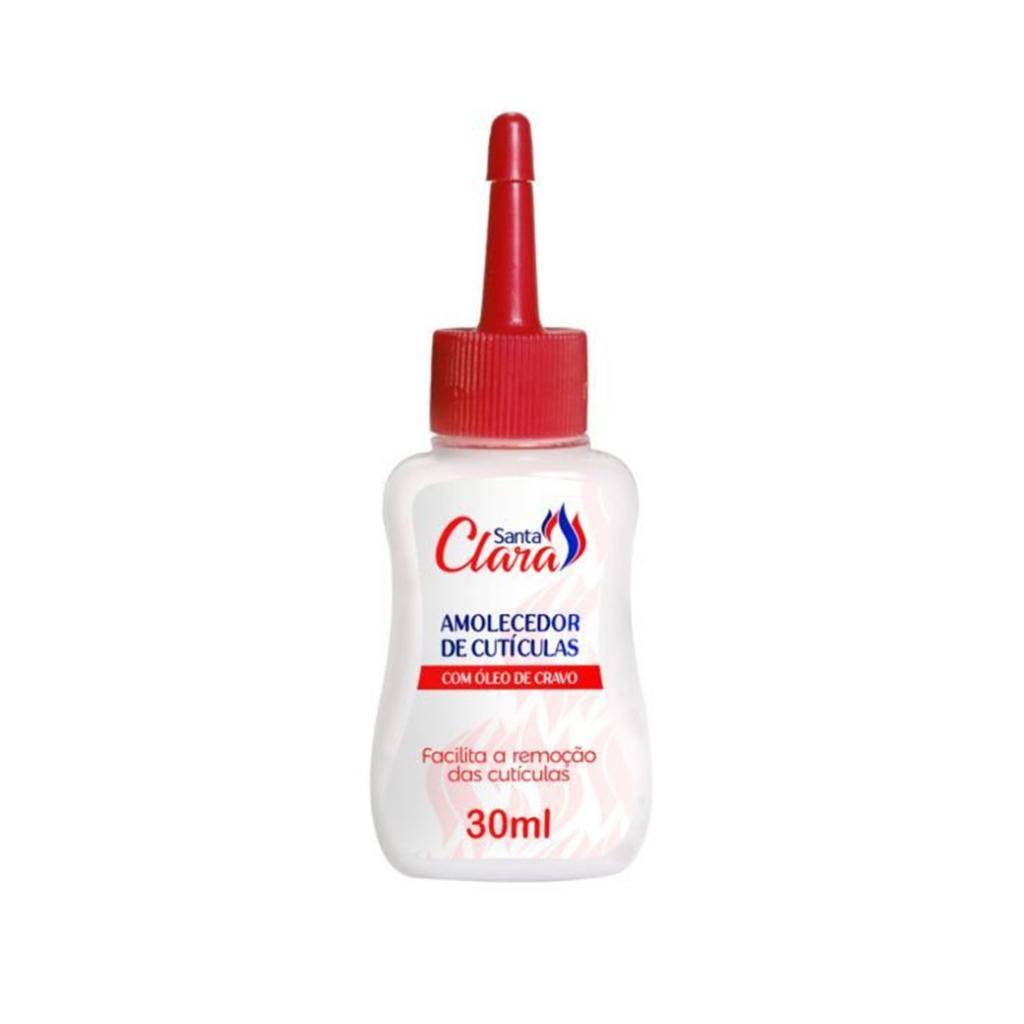 Amolecedor De Cutículas com Óleo de Cravo 30 ml - Santa Clara