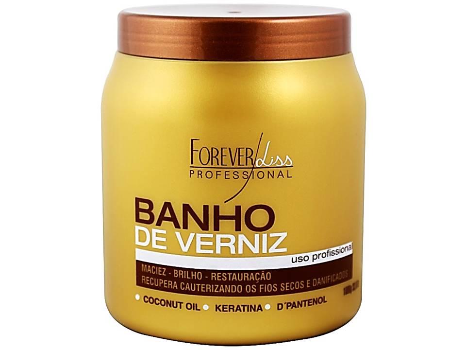 Banho De Verniz Forever Liss 1 Kilo