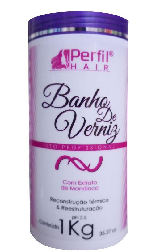 Banho De Verniz Perfil Hair 1 Kg
