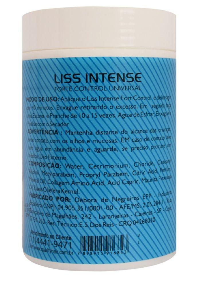Botox Brilho Tridimensional Liss Intense - Quality Hair 1kg