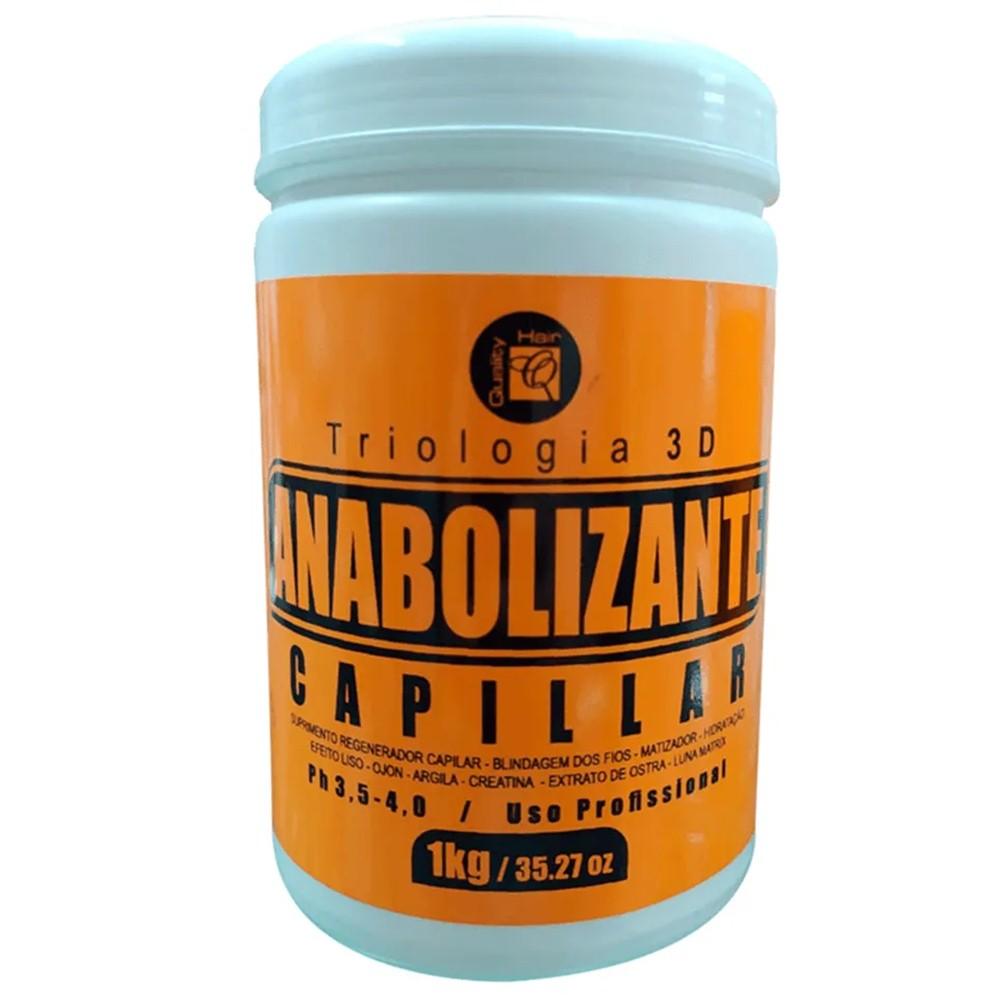 Botox Matizante Trilogia 3D Anabolizante Capilar  Quality Hair 1kg