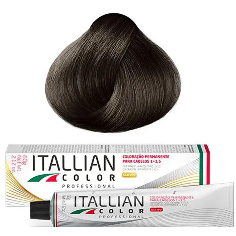 Coloração Profissional Castanho Claro 5.0 Itallian Color 60g