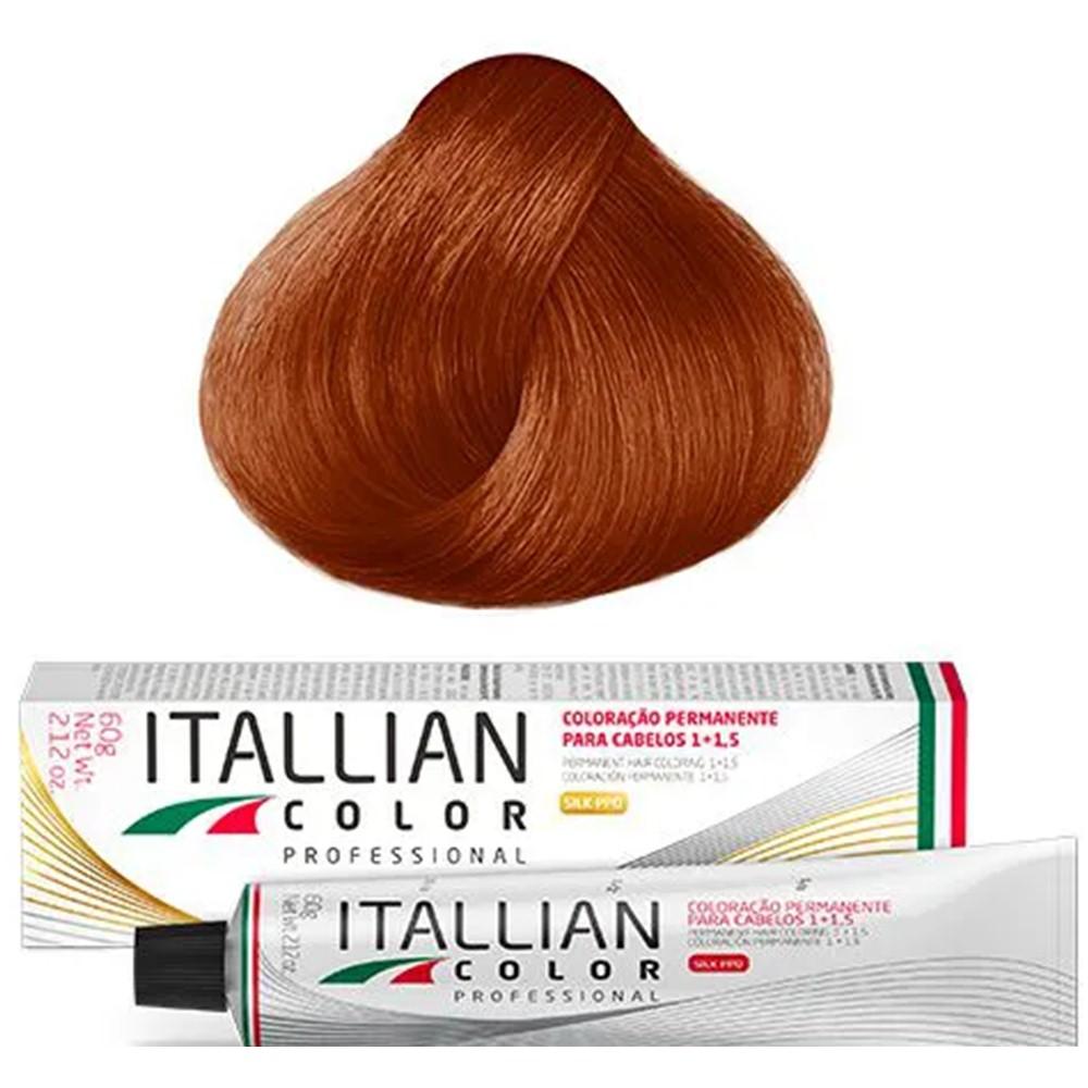 Coloração Profissional Cobre Intenso 8.44 (844) Itallian Color 60g