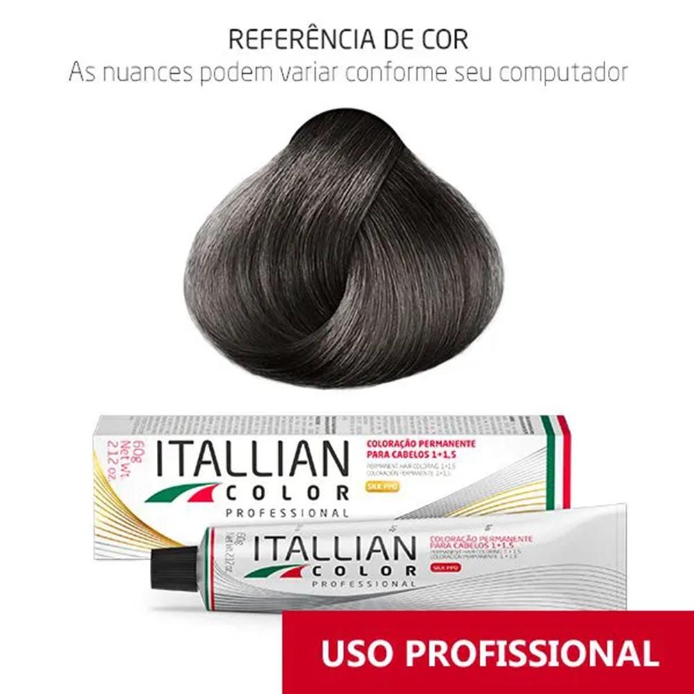 Coloração Profissional Corretor Cinza Cz  Itallian Color 60g