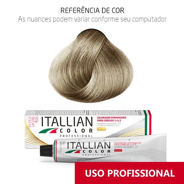 Coloração Profissional Louro Clarissimo Frio 12.1 (101s) Itallian Color 60g