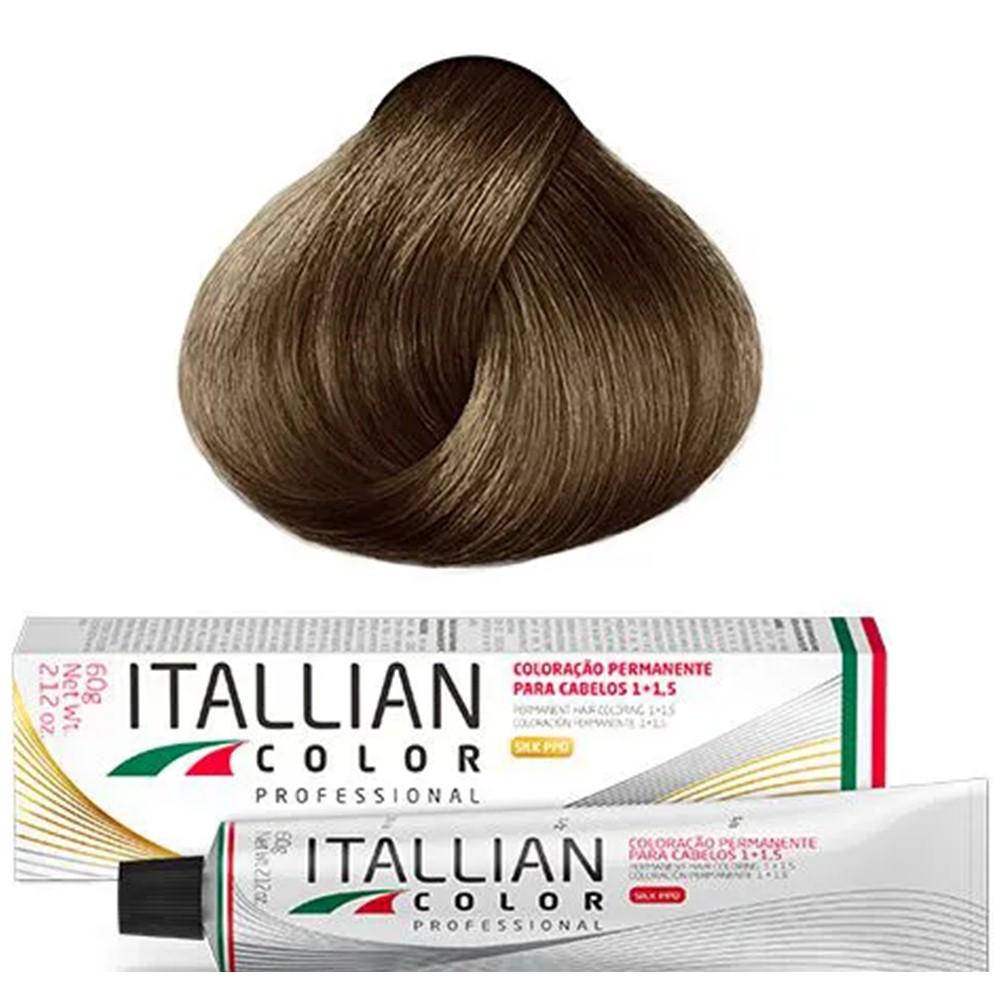 Coloração Profissional Louro Dourado 7.3 (27) Itallian Color 60g
