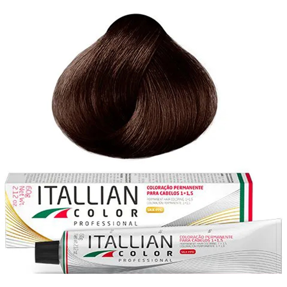 Coloração Profissional Tiziano 7.54 (39) Itallian Color 60g
