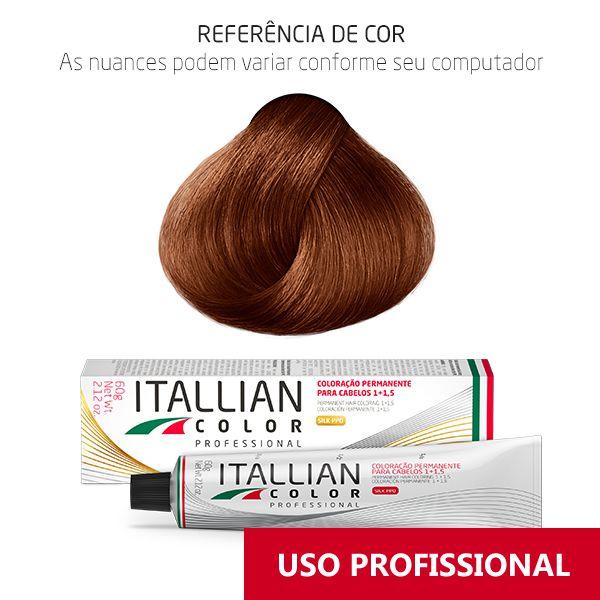 Coloração Profissional Tiziano Claro 7.40 (40c) Itallian Color 60g