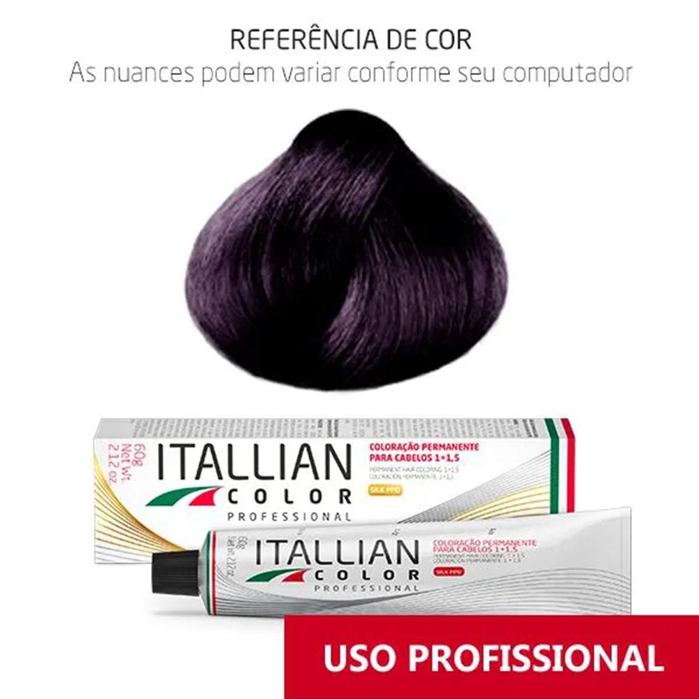 Coloração Profissional Vermelho Violino 5.20 (56) Itallian Color 60g
