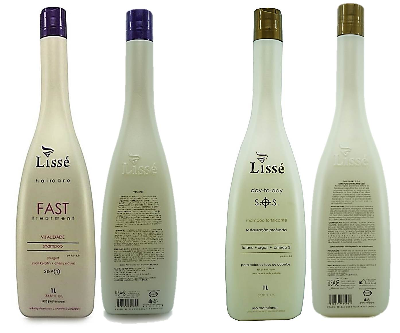S.O.S  Lisse  mais Kit Fast Tratamento Completo