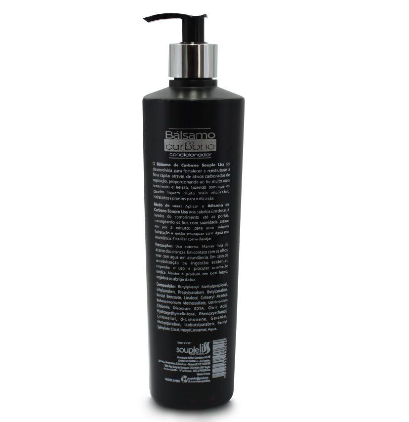 Condicionador Balsamo de Carbono SoupleLiss – 500ml