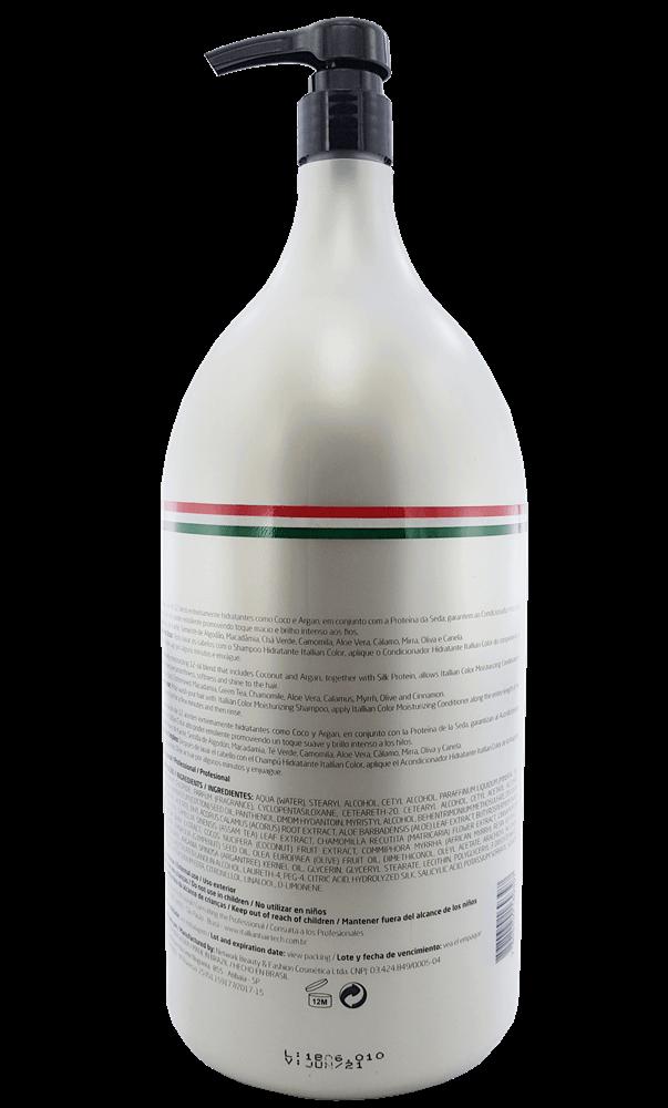 Condicionador Hidratante Lavatório Itallian color 2,5 litros
