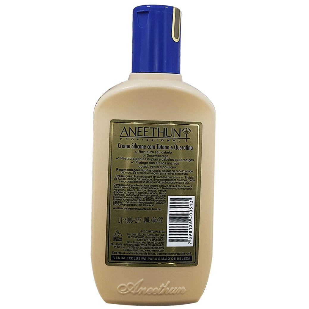 Creme Silicone com Tutano e Queratina Aneethun 250 ml - Cabelos saudáveis e com vida