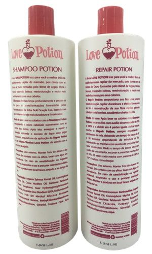 Escova Progressiva Love Potion - 2 passos