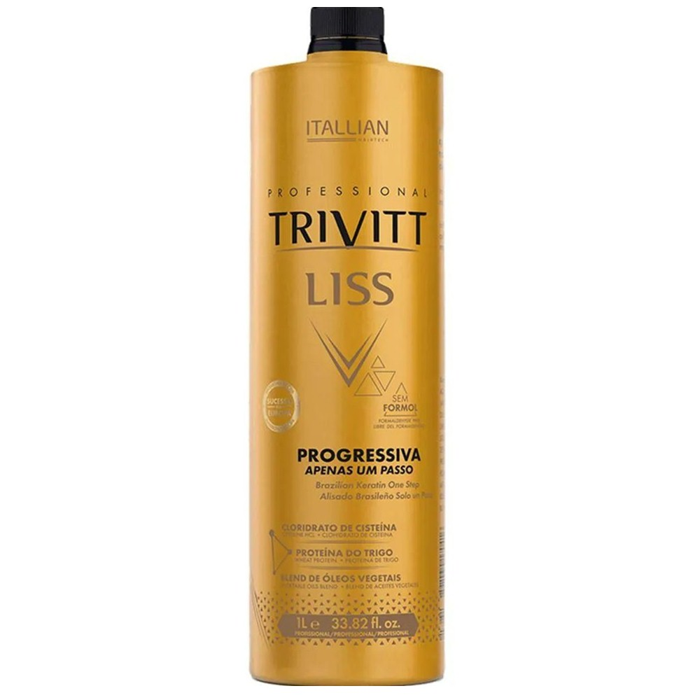Escova progressiva Trivitt Liss zero de Formal.