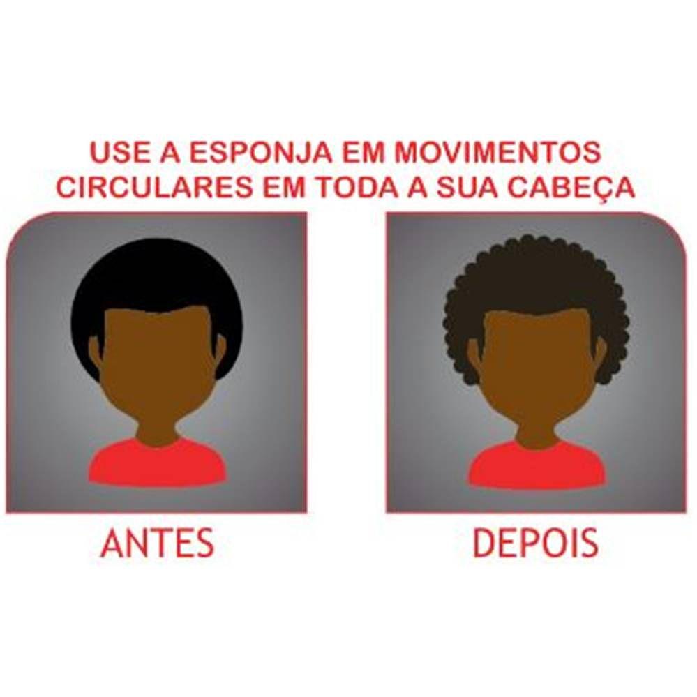 Esponja Twist Dupla Santa Clara - Ideal para cabelos afros