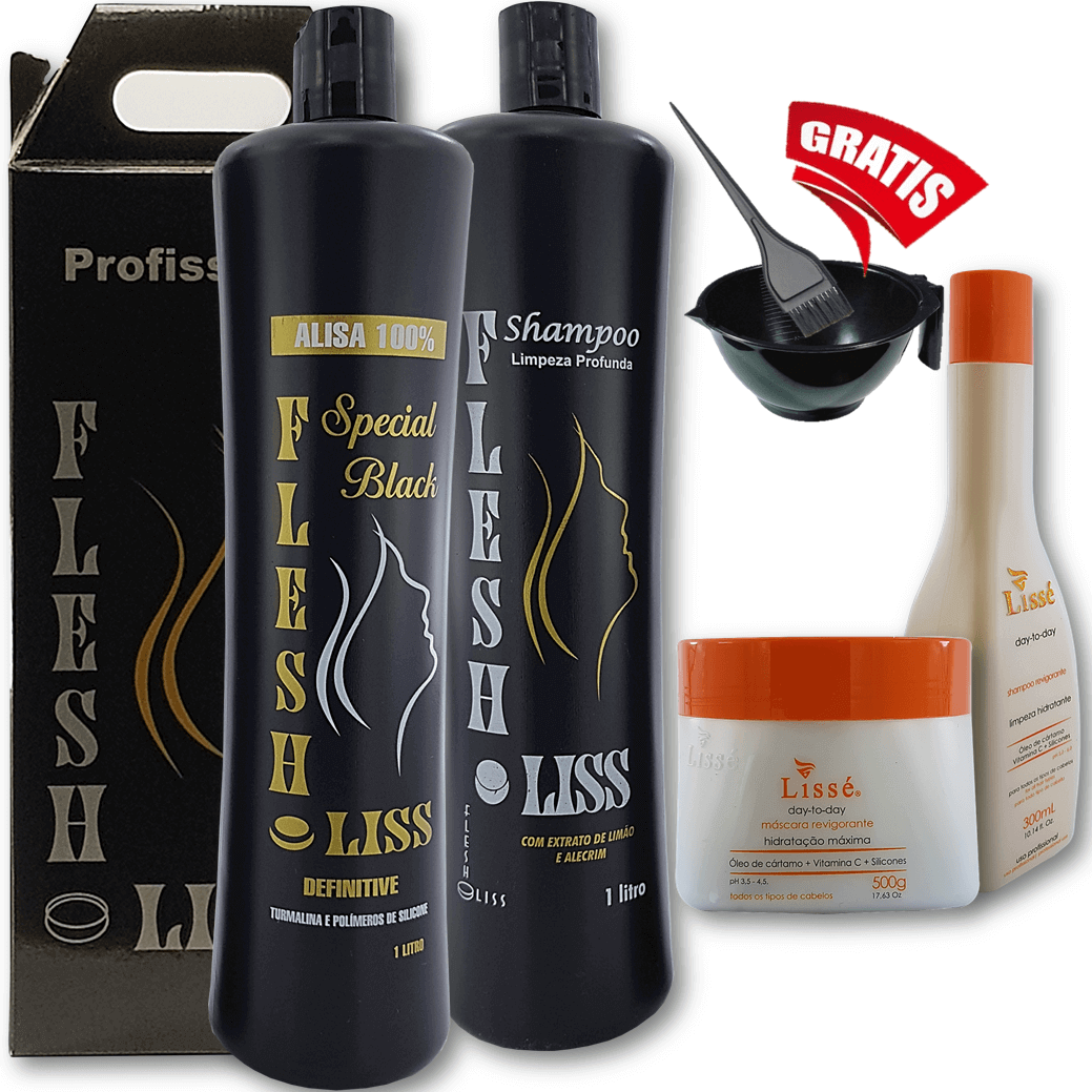 flesh lisse mais kit revigorante
