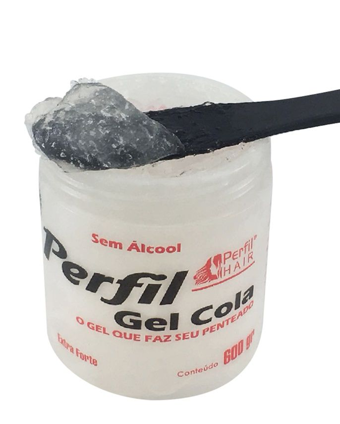 Gel Cola Extra Forte 600 G Perfil Hair
