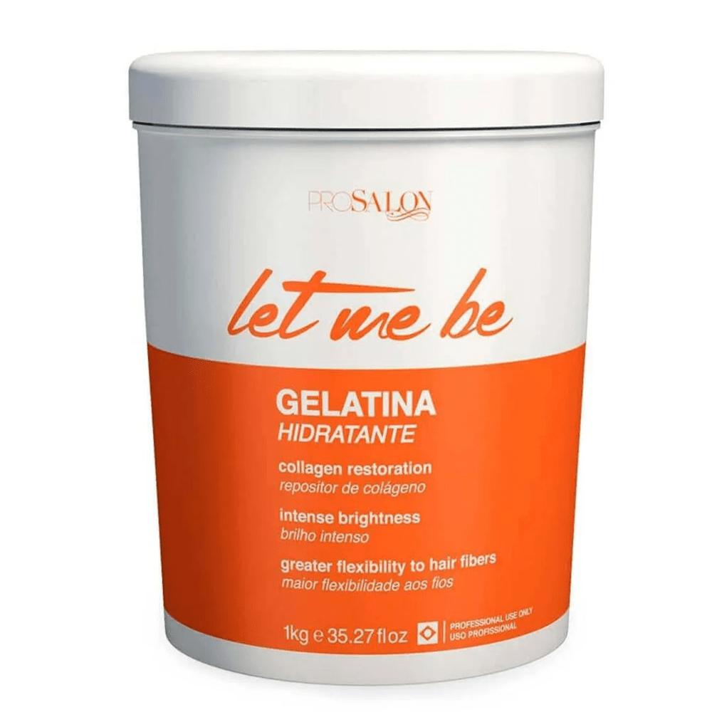 Gelatina Capilar Let Me Be 1kg – Reconstrução e Hidratação