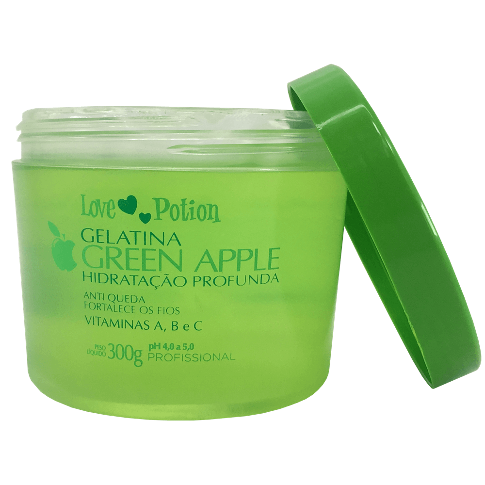 Gelatina Green Apple Love Potion