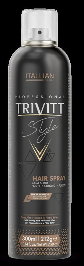 Hair Spray Lacca  Spray Fixador Extra Forte Trivitt  300ml