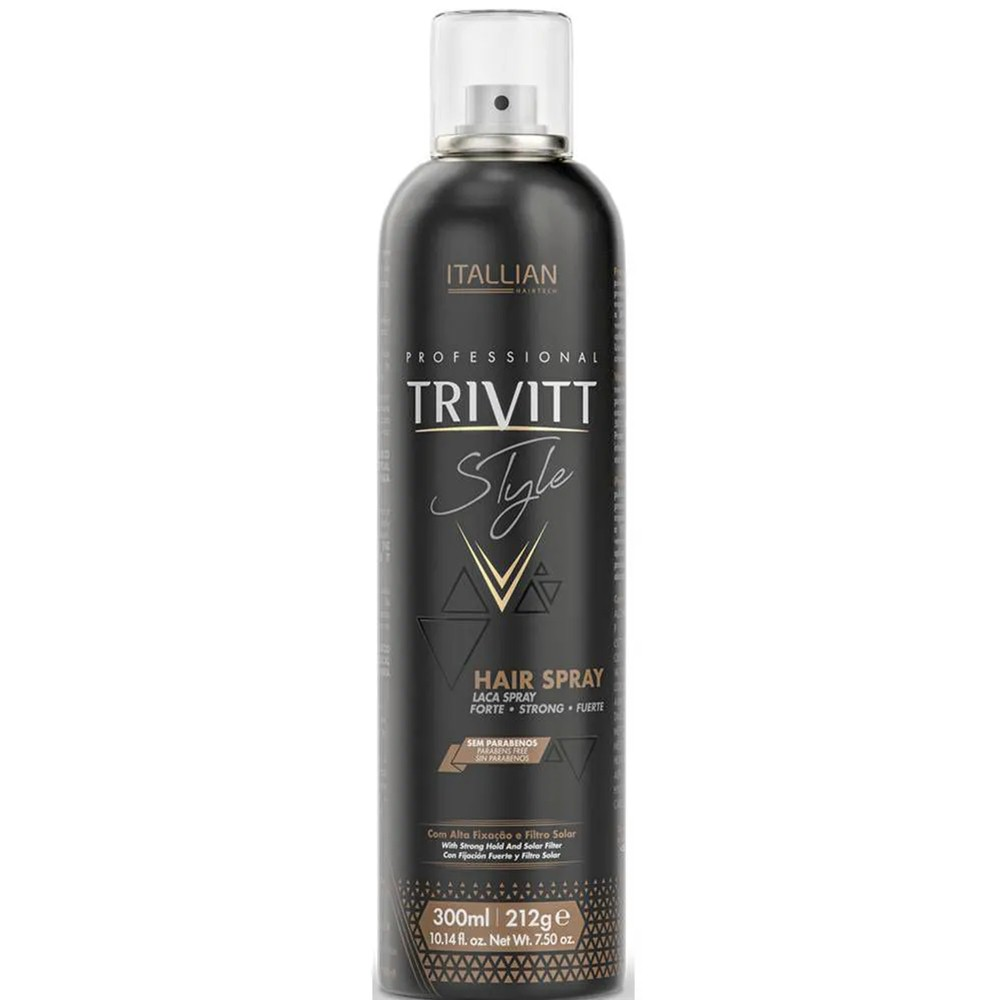 Hair Spray Lacca  Spray Fixador Extra Forte Trivitt  300ml