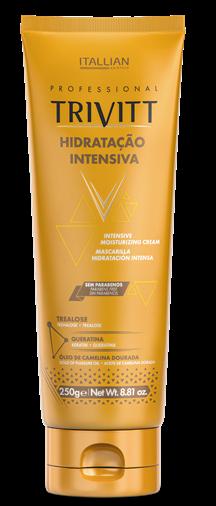 Mascara De Hidratação Intensiva Profissional Trivitt 250gr