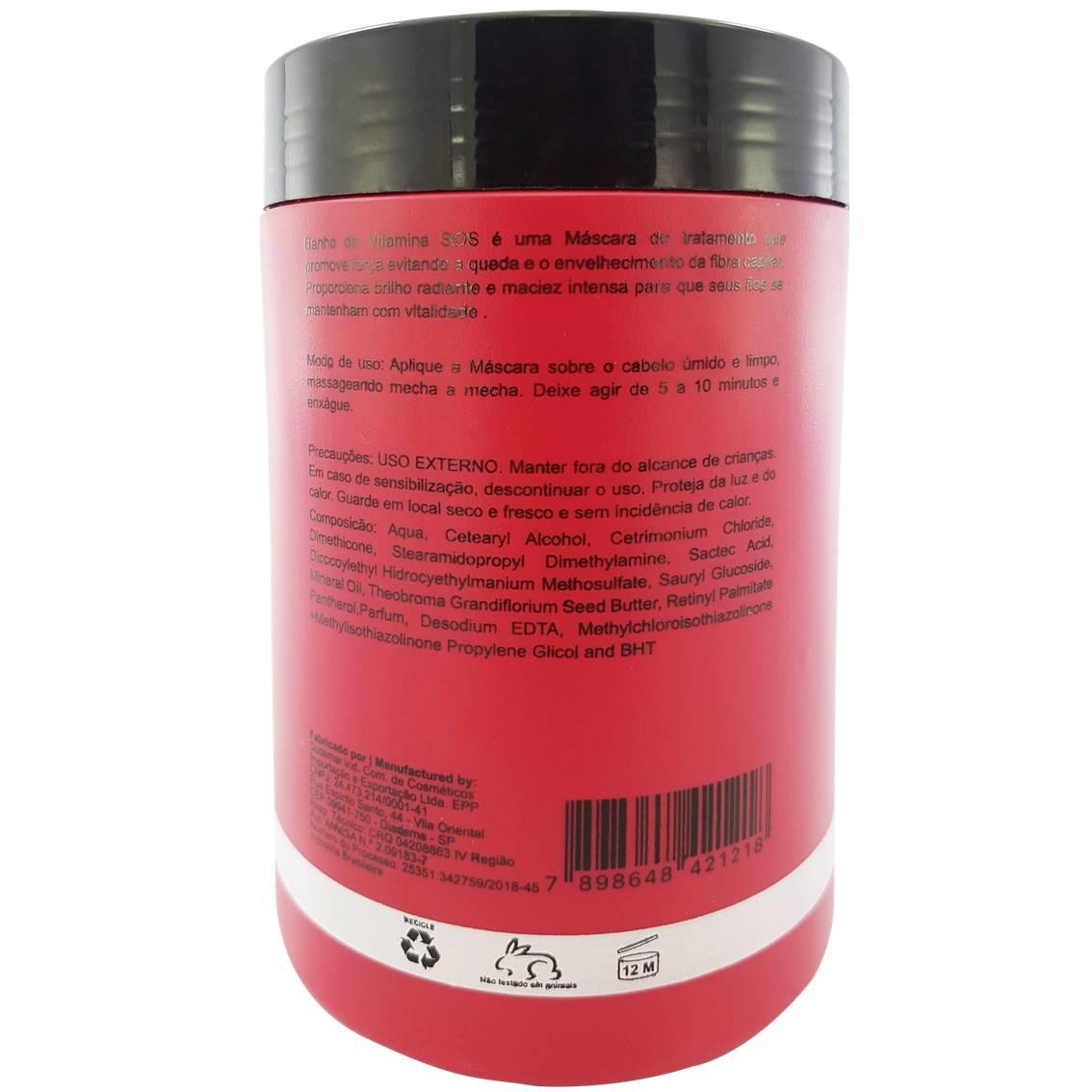 Hidratante banho de vitamina SOS - 1 kg