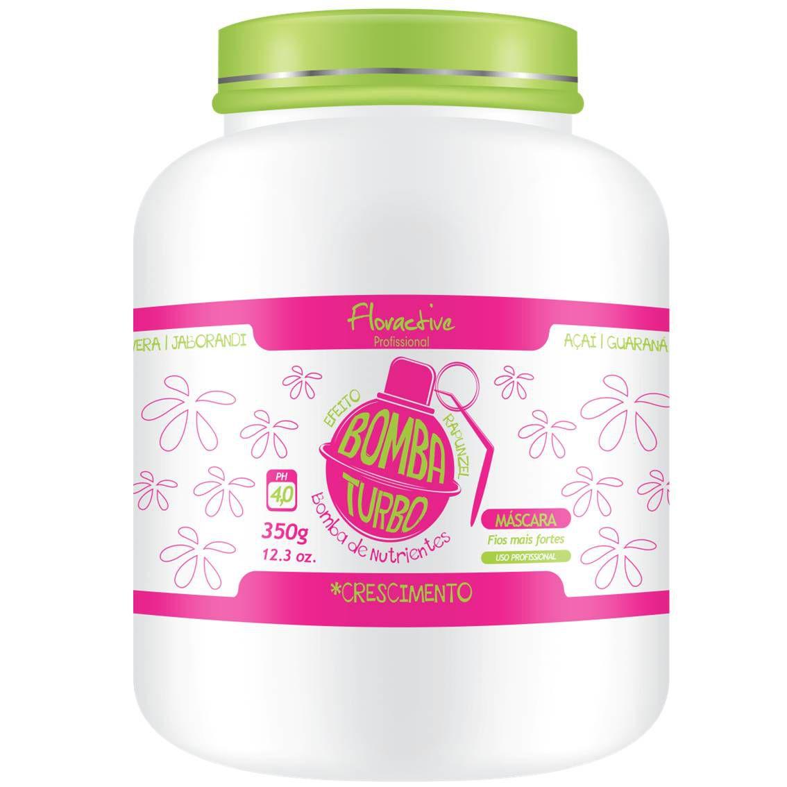 Kit Bomba de crescimento Turbo Floractive - Efeito Rapunzel