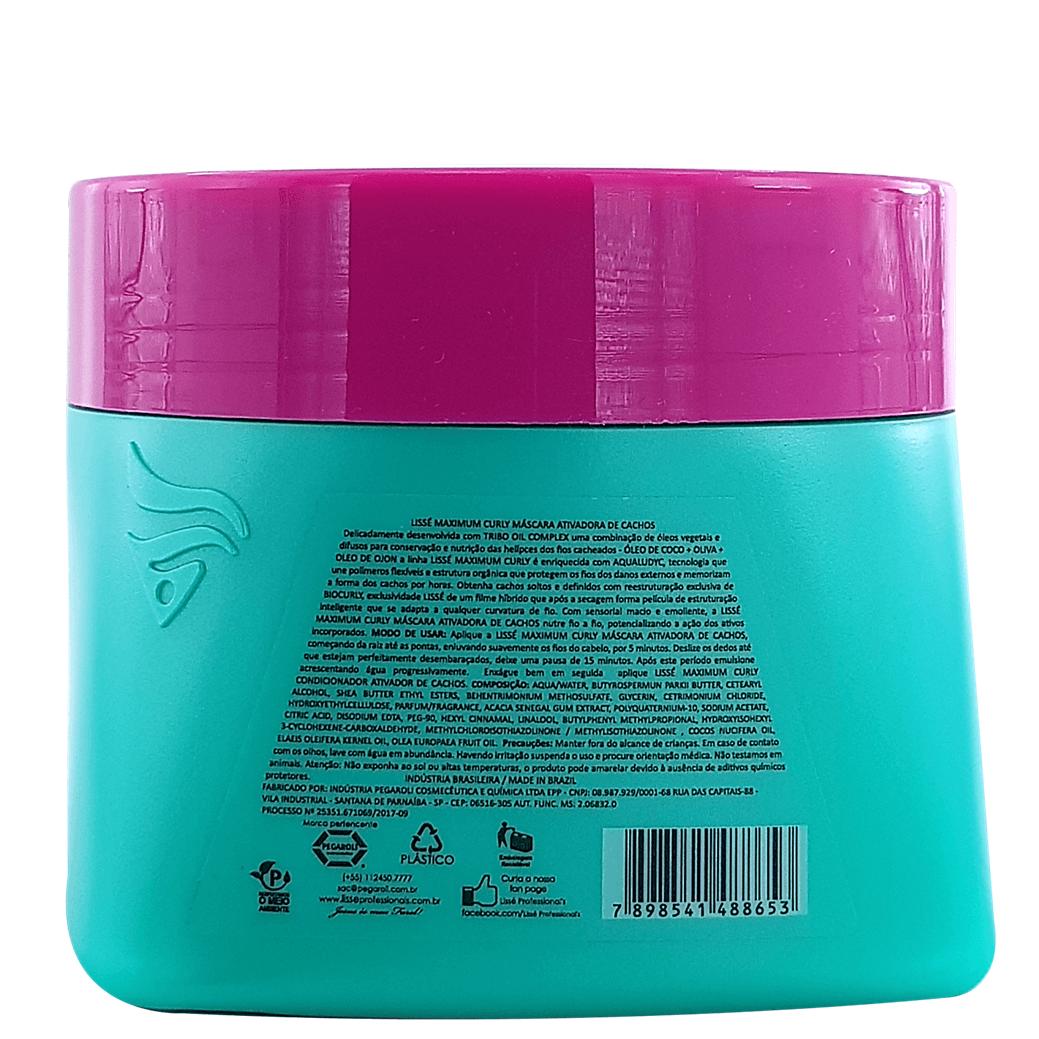 Kit Cachos definidos Lissé Maximum Curly - 04 produtos