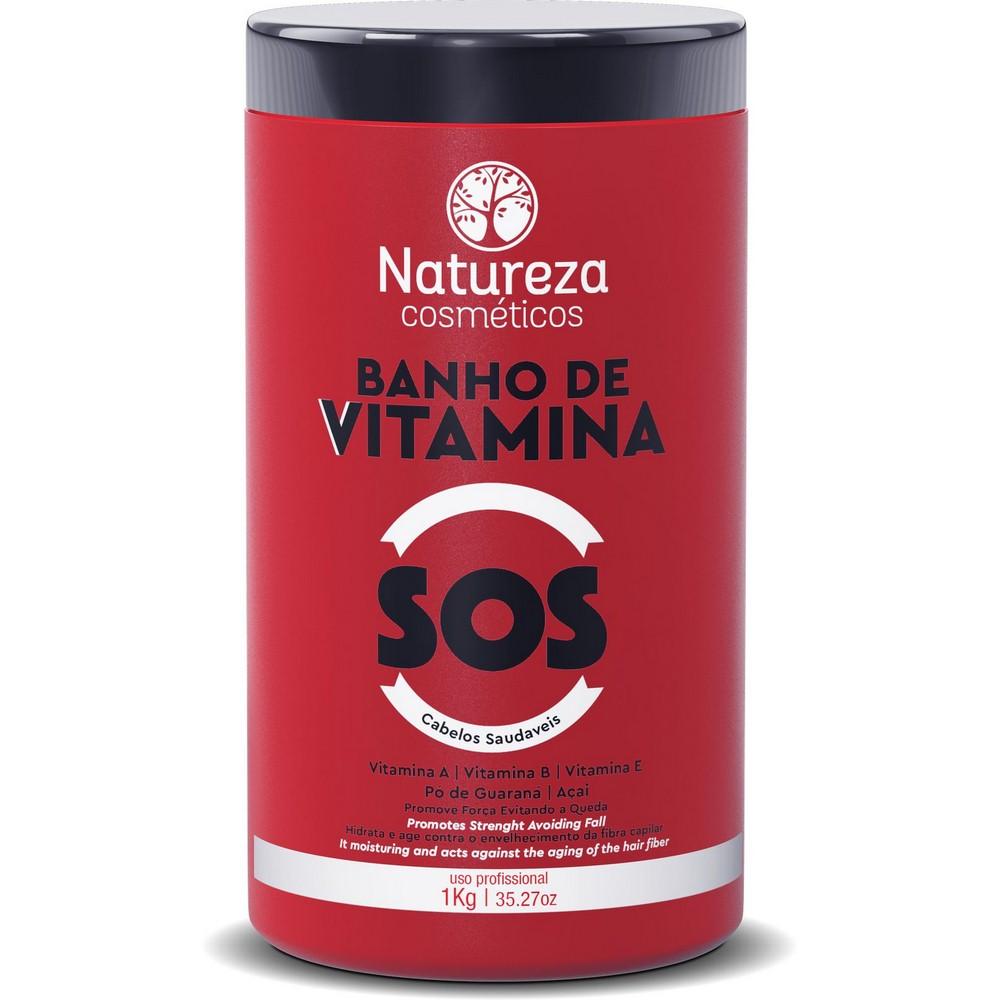 KIT Care Natureza Cosméticos SOS - Banho de Vitamina -