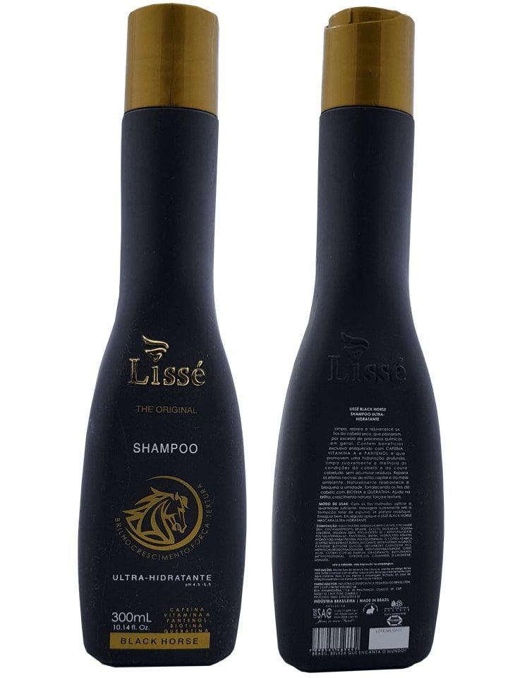 Kit Crescimento acelerado Black Horse 300 ml - 3 produtos