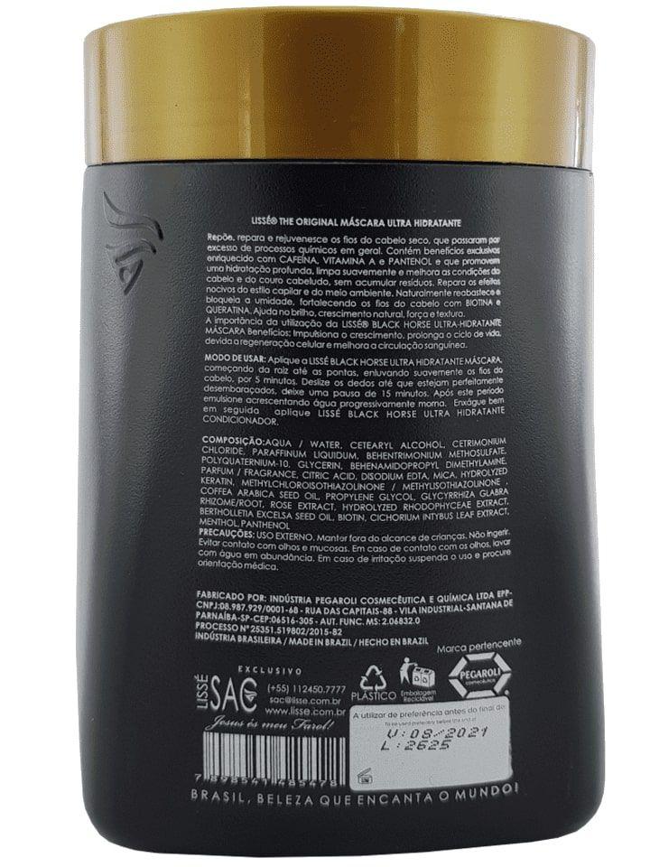 Kit Crescimento Acelerado Black Horse Profissional 1 KG - 3 produtos