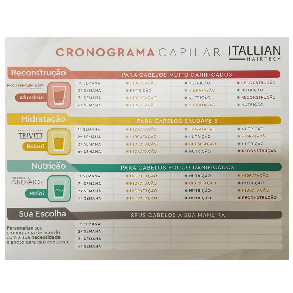 Kit Cronograma Capilar Itallian Hairtech