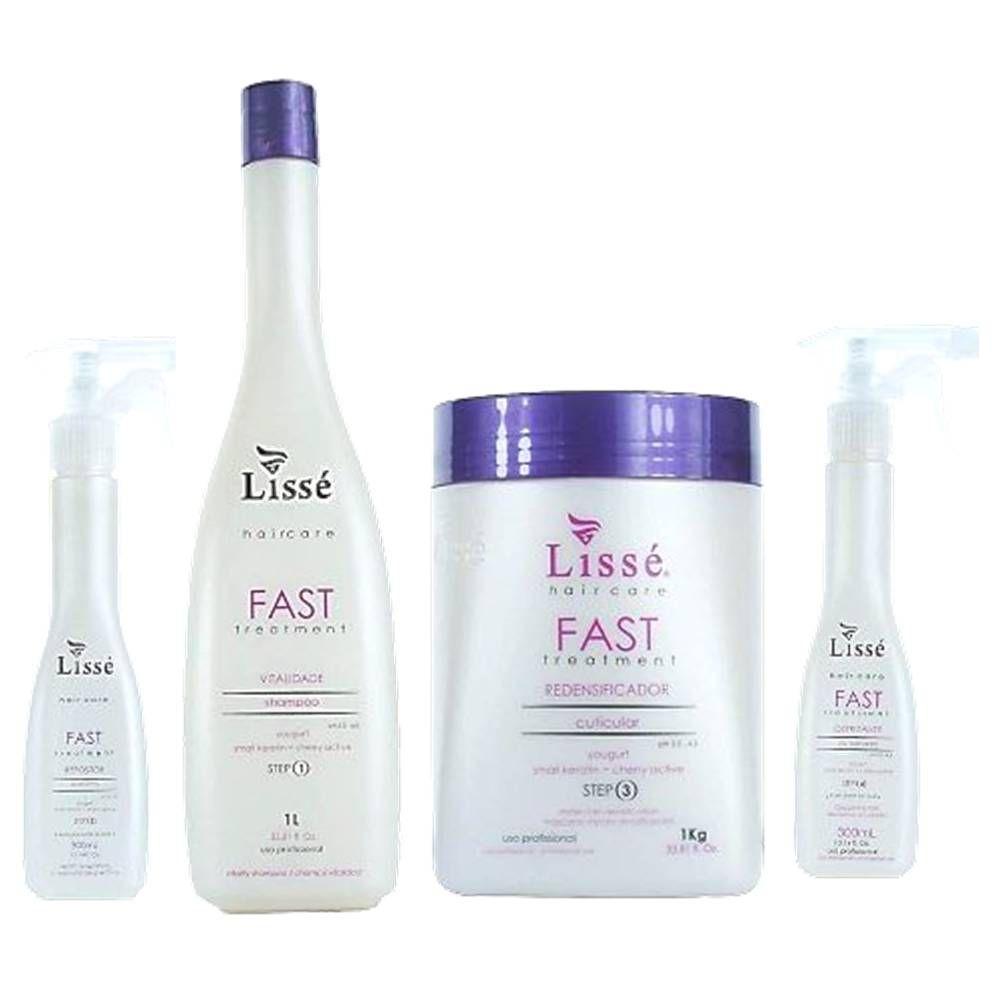 Kit Fast Completo Lisse Com 4 Produto