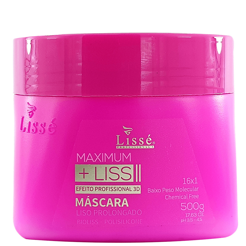 Kit Lissé Maximum +Liss – Liso prolongado 3D