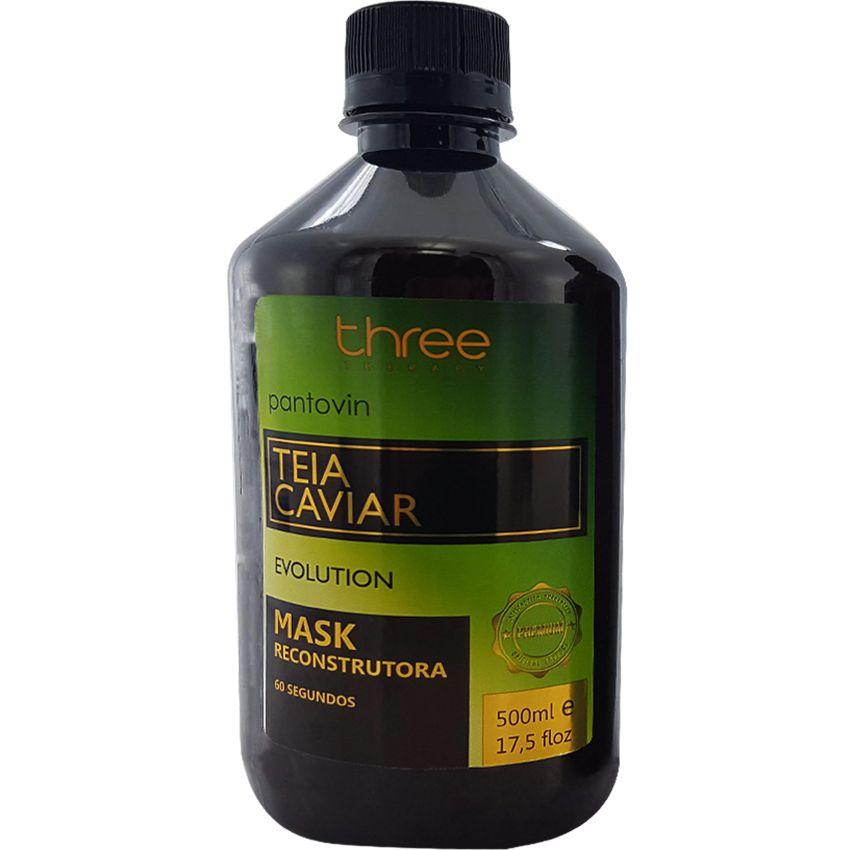 Kit Reconstrutor 60 segundos Teia Caviar (2x500ml)