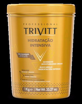 O segredo do cabeleireiro – Kit Profissional completo Hidratação Intensiva Trivitt