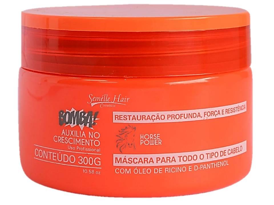 Kit Tratamento De Crescimento Capilar Semelle Hair