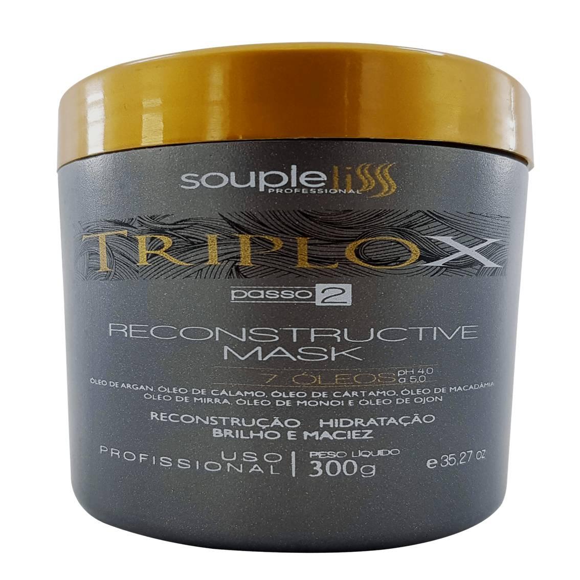 Kit Triplo X Reconstrução Máxima - Souple Liss