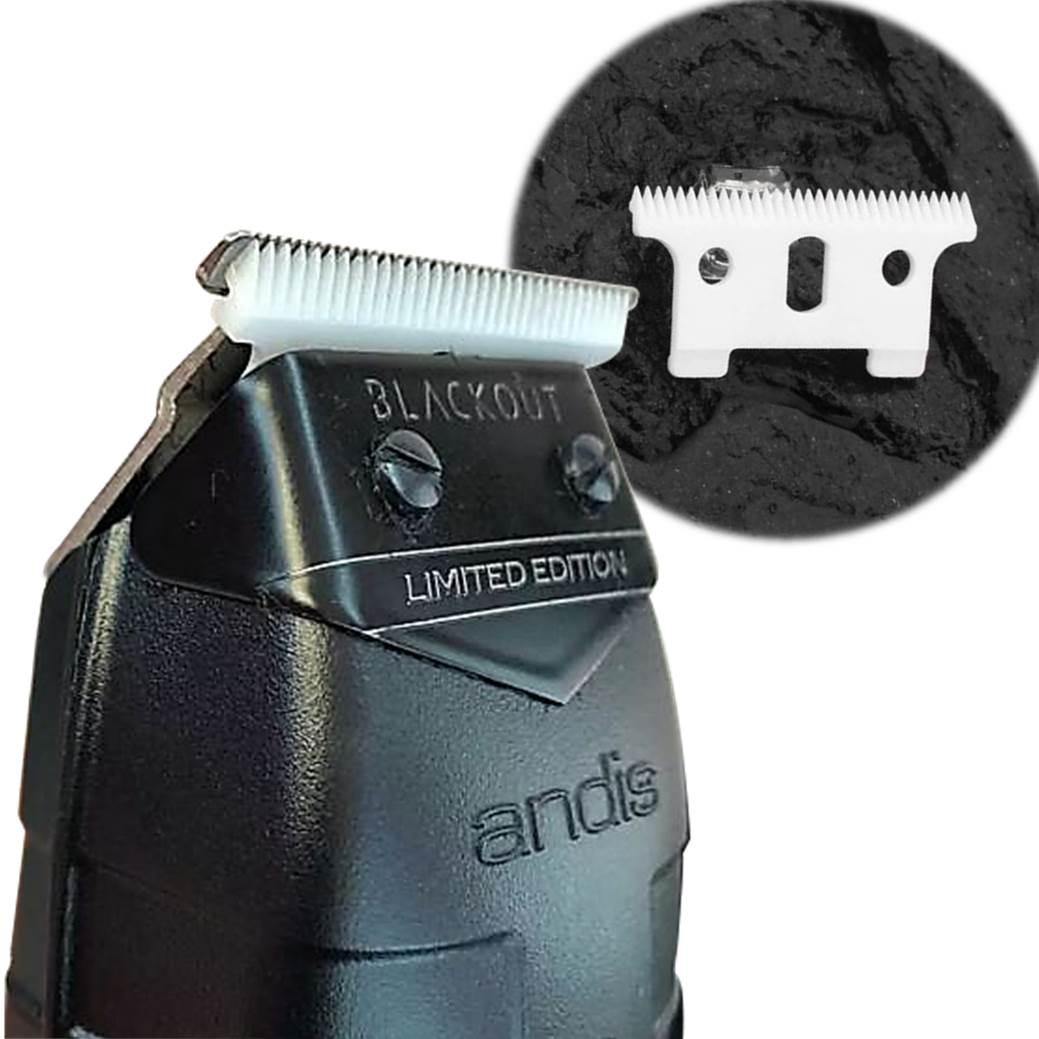 Máquina de Acabamento Profissional Andis GTX T-Blade Trimmer  Black