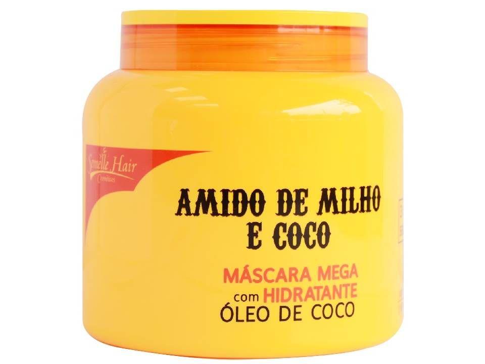 Mascara De Hidratação Intensiva Com Amido De Milho