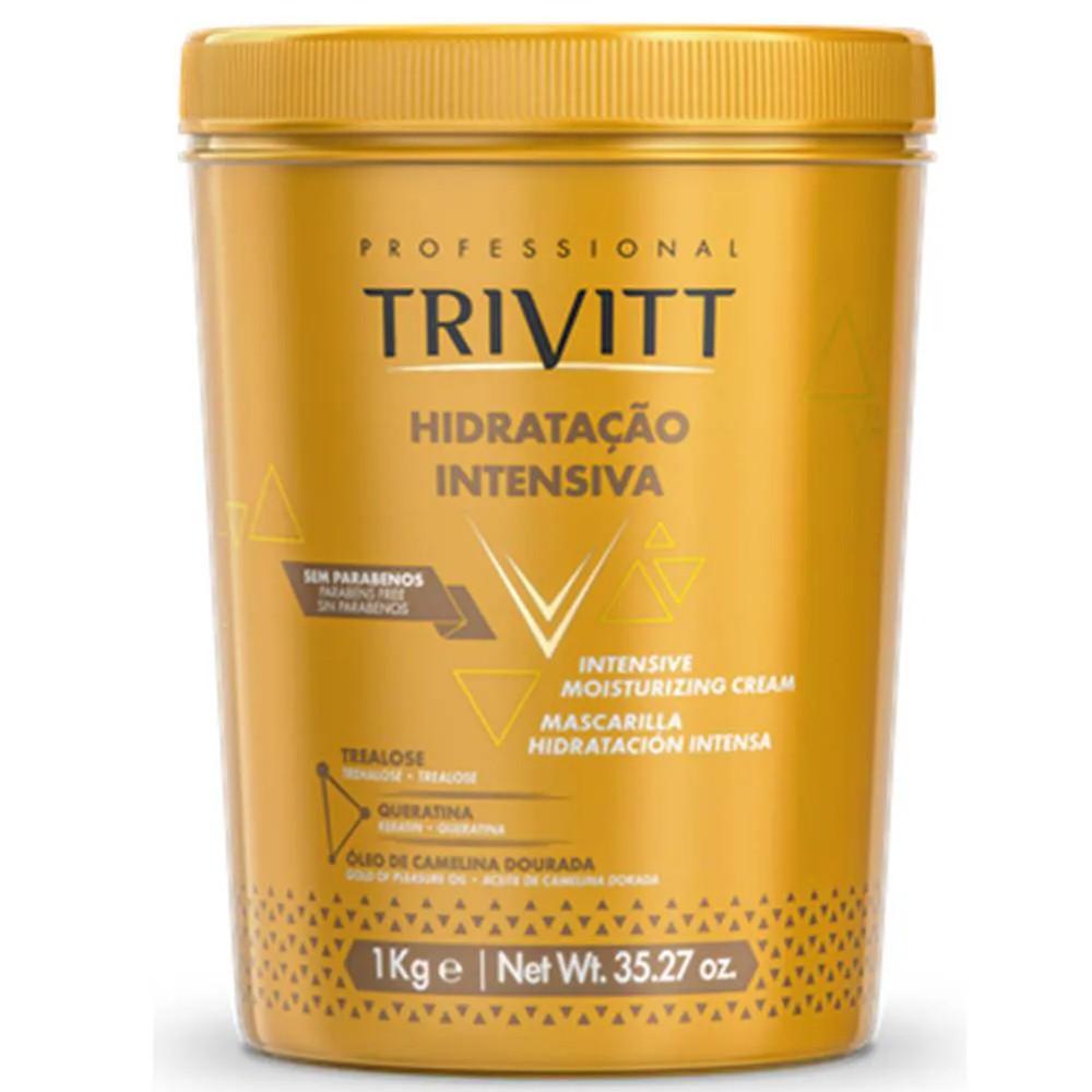 Máscara De Hidratação Intensiva Profissional Trivitt 1Kg