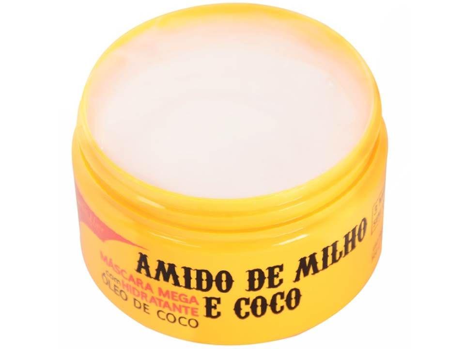 Mascara De Hidratação Profunda De Amido De Milho E Cocô