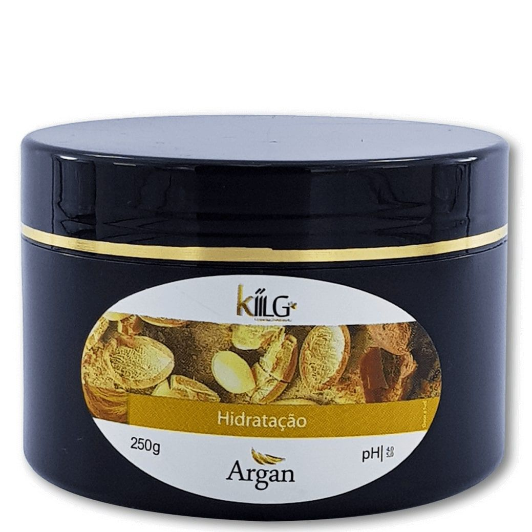 Máscara de Hidratação Profunda de Argan Kiilg - 250 gramas