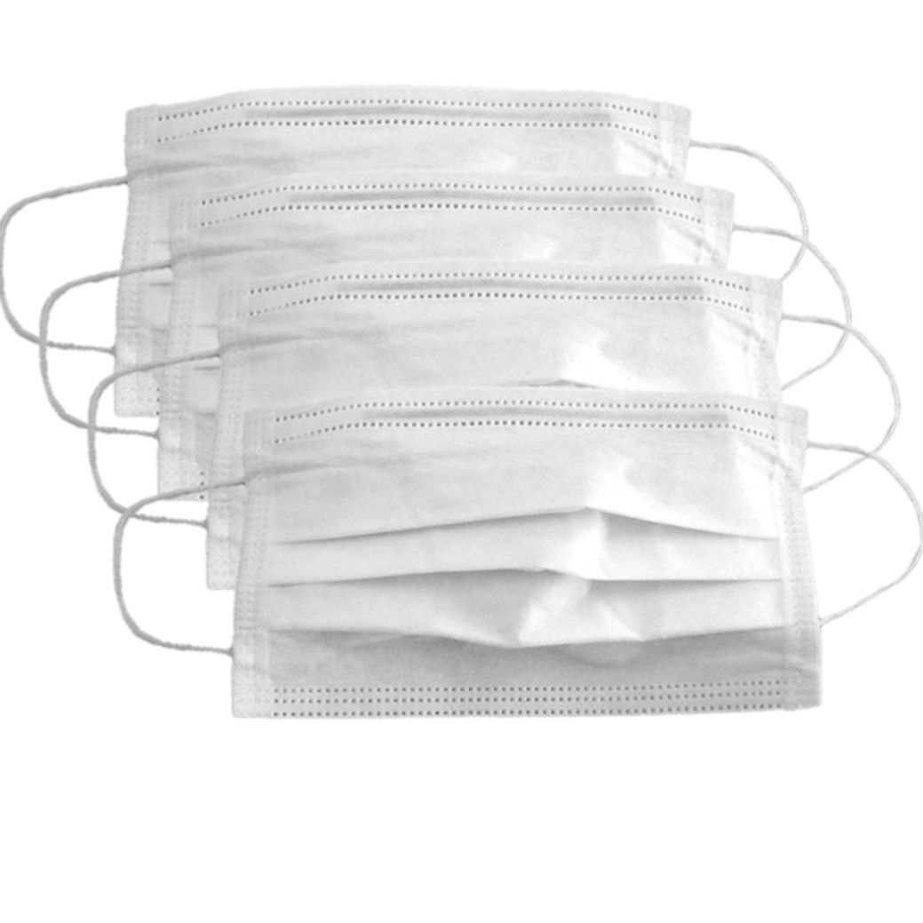 Máscara Descartável para Proteção contra Corona Vírus e Bactérias