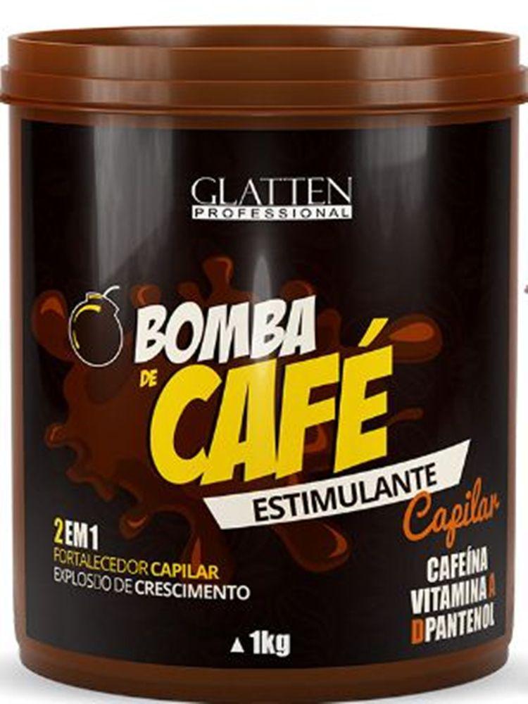 Máscara Estimulante Capilar - Bomba de Café Glatten Professional 1kg