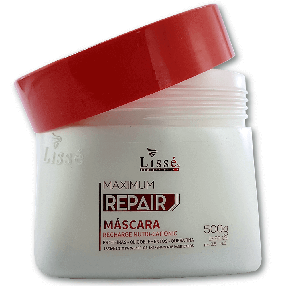 Máscara Máxima Reparação Maximum – Recharge Nutri-Cationic 500g