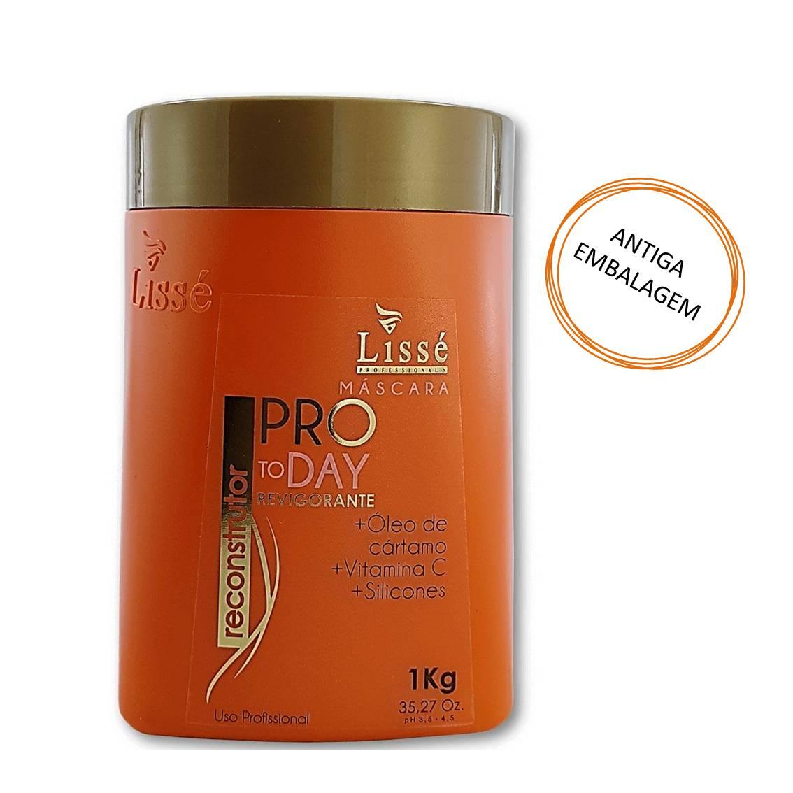 Máscara Hidratante Revigorante Pro To Day 1 Kg - Lissé